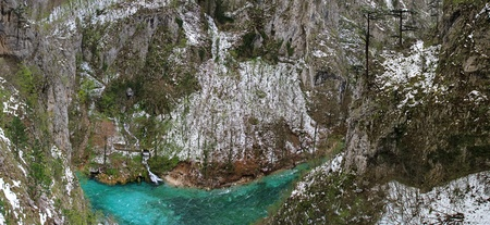 tara: Deep canyon of Tara river in Montenegro
