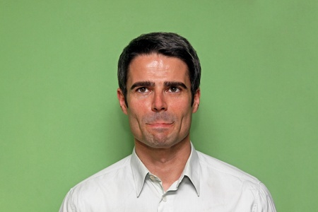 gorgeus: Portrait of handsome atractive man with dark hair Stock Photo
