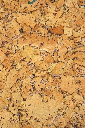 impermeable: Cork panel natural material for bulletin board