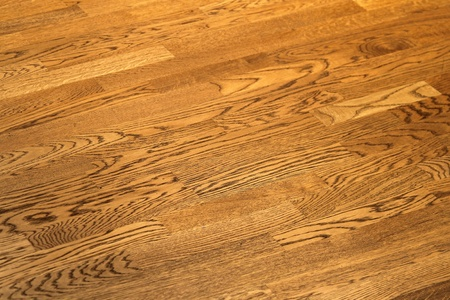 Vintage wood floor with grains and knots Stock Photo - 20459116