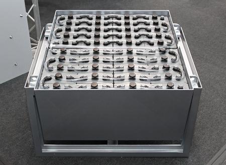 lead: Lead acid  battery pack in frame for forklift