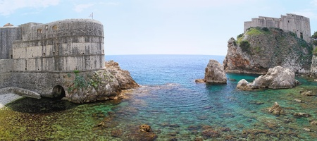 Panorama of fort and castle in Dubrovnik Stock Photo - 20471791