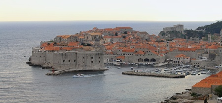 Panorama of old town Dubrovnik in Croatia Stock Photo - 20471825
