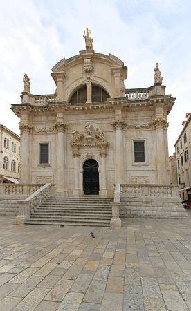 Church of Saint Blaise in Dubrovnik Croatia Stock Photo - 20471623
