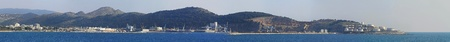 Port of Bar at Adriatic sea in Montenegro panorama Stock Photo - 20471800