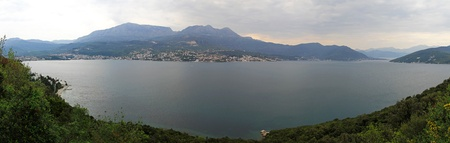 Panorama of Boka Kotorska bay in Montenegro Stock Photo - 20470073
