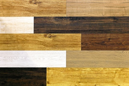 tile flooring: Flooring board tiles made from various wood types