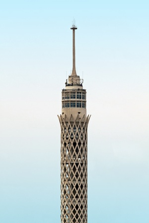 cairo: Cairo communication Tower made from reinforced concrete