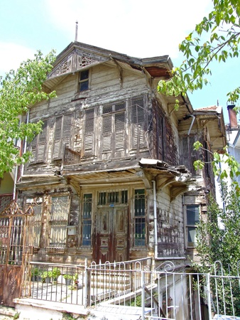 run down: Abandoned house at Prince Islands near Istanbul