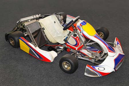 Go kart for high speed karting race photo
