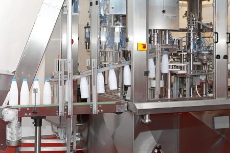 machine de production alimentaire avec tapis roulant Banque d'images