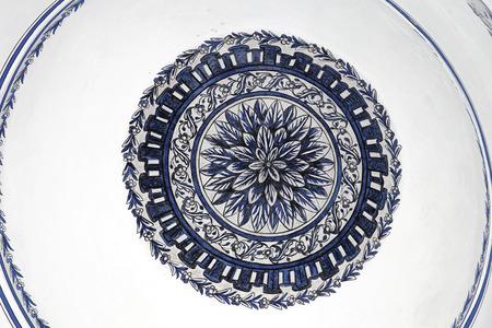 mustafa: Ceiling at Mustafa Pasha Mosque in Skopje Editorial
