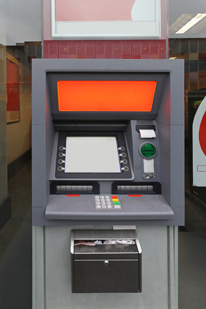 automated teller: Automated teller machine cash point
