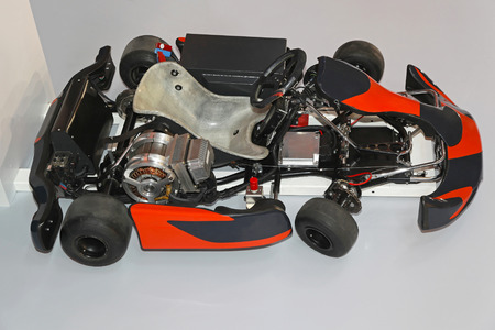 go kart: Fastest electric go kart with lithium ion batteries