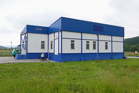 warehouse building: Small Warehouse building at green field