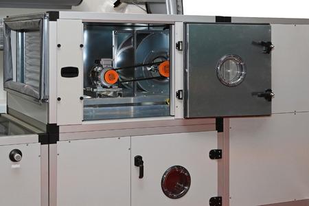 ручка: Приточно-вытяжные установки в центральную систему вентиляции Фото со стока