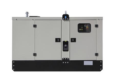 alternateur: Groupe électrogène diesel mobile pour énergie électrique de secours isolé Banque d'images