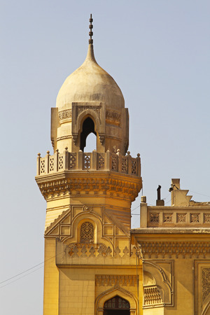 heliopolis: The Baron Empain Palace in Heliopolis suburb of Cairo Egypt Editorial