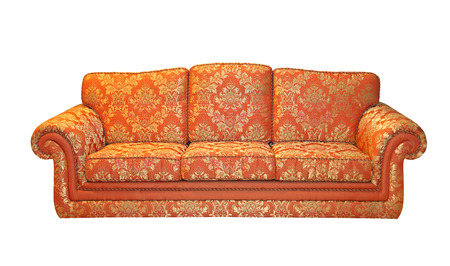 upholster: Classics sofa isolated included clipping path