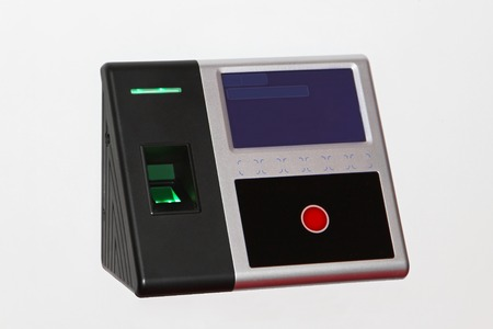 access control: Fingerprint recognition scanner for control access security