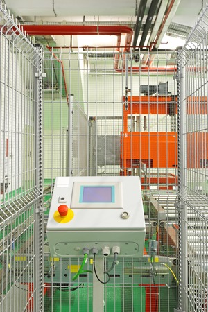 control box: Control box for automated production line in factory