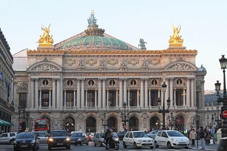 palais garnier: PARIS, FRANCE - JANUARY 7: Paris Opera on JANUARY 7, 2010. Palais Garnier Theatre and Opera House in Paris, France. Editorial