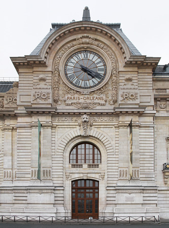 PARIS, FRANCE - JANUARY 6: Paris Orleans on JANUARY 6, 2010. Gare d Orsay former railway station and hotel now museum in Paris, France.