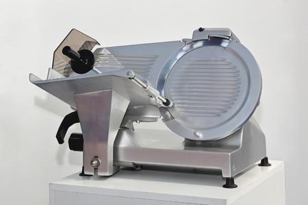 semi automatic: Semi Automatic meat and ham slicer machine