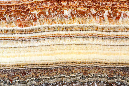 stratification: Cross Section of Stratum Sedimentary Layers
