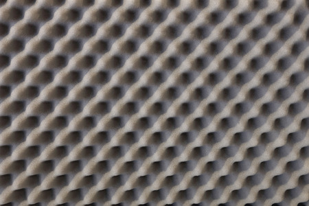 damping: Sound absorbing sponge isolation for studio Stock Photo