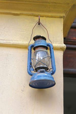 kerosene: Cold Blast Kerosene Oil Lamp at Wall