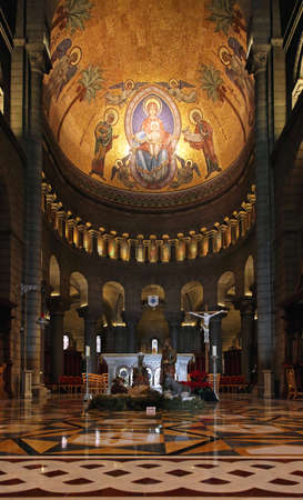 'saint nicholas': MONTE CARLO, MONACO - JANUARY 18  Saint Nicholas Cathedral in Monte Carlo on JANUARY 18, 2012  Saint Nicholas Cathedral interior in Monte Carlo, Monaco  Editorial
