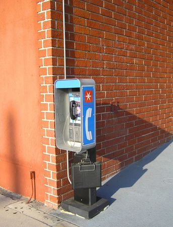Corner Payphone Stock Photo - 261860
