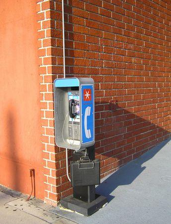 sidewalk talk: Corner Payphone
