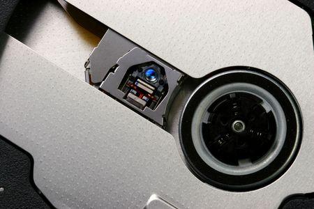 Laptop dvd burner. Stock Photo - 347109