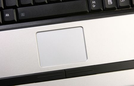 Laptop touch pad photo