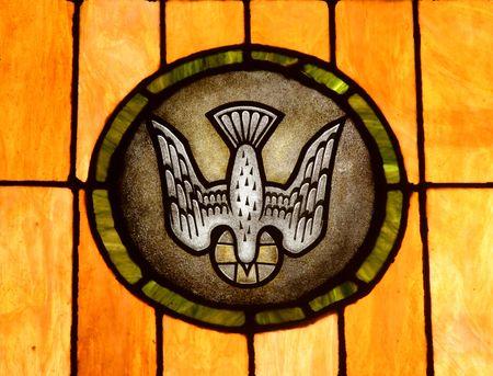 representations: Crystal arte en una iglesia colonial de San Juan, Puerto Rico  Foto de archivo