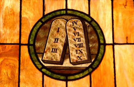 Crystal art in a colonial church in San Juan, Puerto Rico Stock Photo - 598445