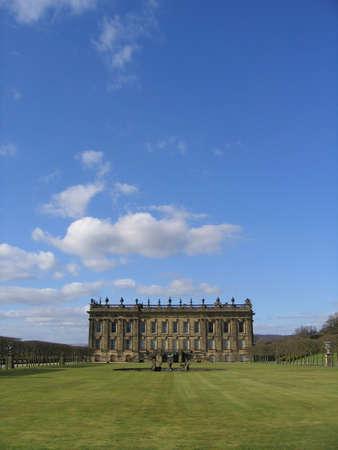 chatsworth: Chatsworth House, Derbyshire, England