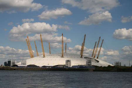 docklands: The O2 (formerly The Millenium Dome)