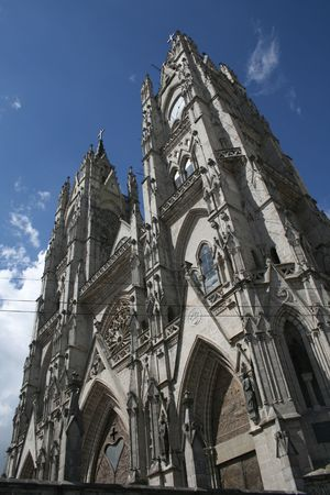 nacional: Quito Cathedral, Basilica of the National Vow (Bas�lica del Voto Nacional), Ecuador