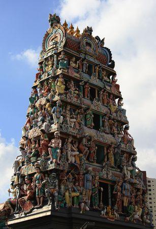 Hindu Statue Pagoda Stock Photo - 806554