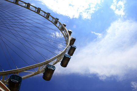 highest: The Flyer, the highest Giant wheel in South East Asia.