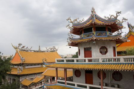 Kong Meng San Phor Kark See Monastery a famous Chinese temple in Singapore. Stock Photo