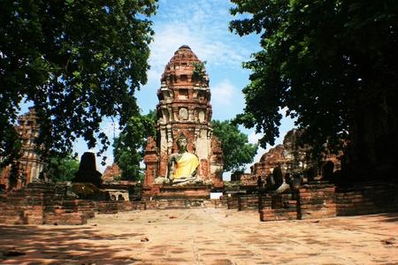 Wat Mahathat,  Ayutthaya, Thailand. Stock Photo - 11724705