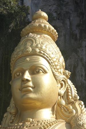Statue at Batu cave Malaysia. photo