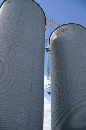 Silos 1- SE Iowa Stock Photo - 500180