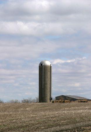 Silo 4 - SE Iowa Stock Photo - 500077