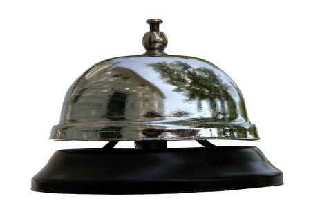 service bell: Service Bell Reflections (sonnette) - Ring service bell for quality service.