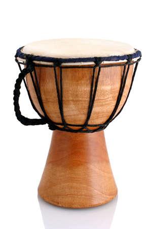 caoba: Jambe Drum - Perfil - gamelan balin�s de toma de tambor de madera de caoba